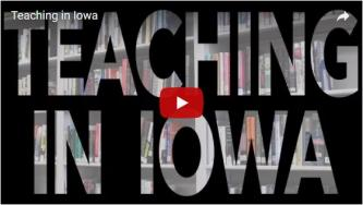 Teaching in Iowa video